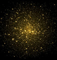 space galaxy background with stars vector image vector image