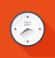 time icon clock icon vector image