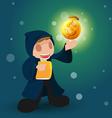 Wizard Magic Money Rich Dollar vector image vector image
