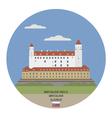 Bratislava Castle vector image vector image