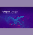fluid shape liquid wave vector image vector image