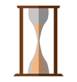 hourglass sand isolated icon vector image