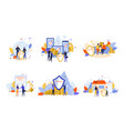 house family health electronic device vector image