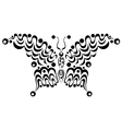 Ornamental butterfly 4 vector image vector image