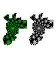 putrajaya states and federal territories of vector image vector image