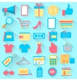 Shopping icon vector image vector image