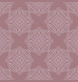 simple floral seamless pattern background vector image vector image