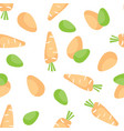 seamless easter background tile holiday pattern vector image