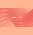abstract wave shape gradients vector image vector image