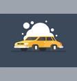 auto icon creative car wash vector image