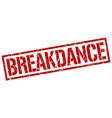 Breakdance stamp
