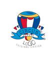 Circus logo original design creative badge can be