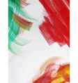 Colorful Abstract watercolor vector image vector image