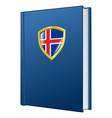 constitution of Iceland vector image vector image