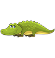 Crocodile Cartoon african wild animal character vector image vector image
