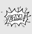hand drawn comic speech bubbles with emotion and vector image vector image