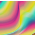 holography background trendy colorful vector image vector image