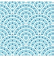 Circle With Water Drop Shape Seamless vector image
