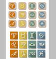 All Zodiac symbol icon vector image vector image