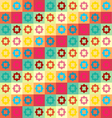 Colorful Geometry Pattern vector image vector image