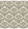 damask pattern vector image vector image