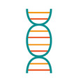 dna strand icon image vector image vector image
