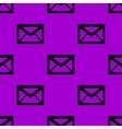 mail envelope web icon flat design Seamless vector image