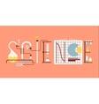 science lab vector image vector image