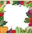 vegetables fresh ingredients image vector image vector image