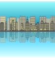 Set of pixel small building vector image