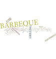 barbeque maintenance tips text background word vector image vector image