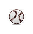 baseball logo design template vector image