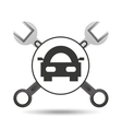 car concept support tool icon graphic vector image