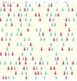 christmas tree seamless vector image vector image
