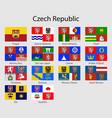flags provinces czech republic all