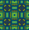 geometric with native tribal look seamless vector image