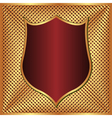 gold and maroon background vector image vector image