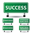 success sign vector image