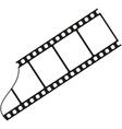 Silhouette film vector image