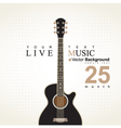 Acoustic guitar on a bei vector | Price: 3 Credits (USD $3)