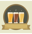 beer labels vector image vector image