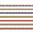 fashion cords set vector image