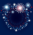 Fireworks background with copy space