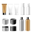 Make-up packaging product vector image vector image