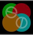 medical pills icon medicine icon health vector image vector image