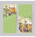 Set of vertical banners for St Patricks Day vector image
