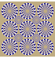Spin Circles vector image vector image
