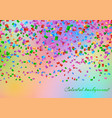 confetti in the air backdrop vector image vector image