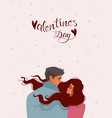 couple romantic vector image vector image