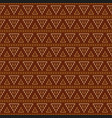 geometric abstract knitted pattern autumn vector image vector image